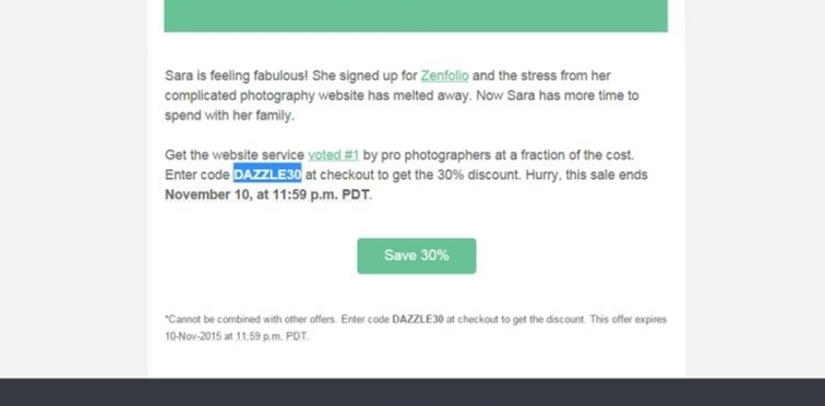 Zenfolio coupon code