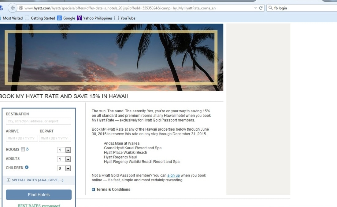 Hyatt coupon code