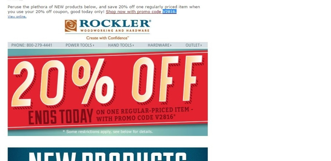 rockler coupon code free shipping