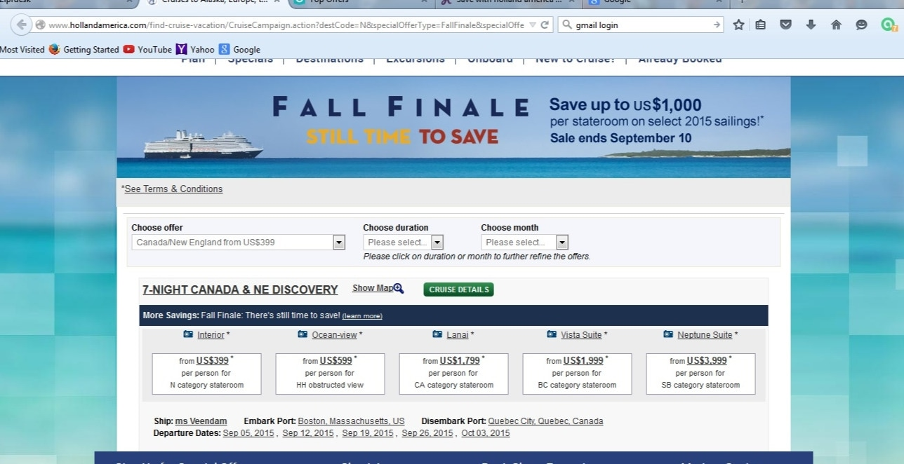 American discount cruises coupon