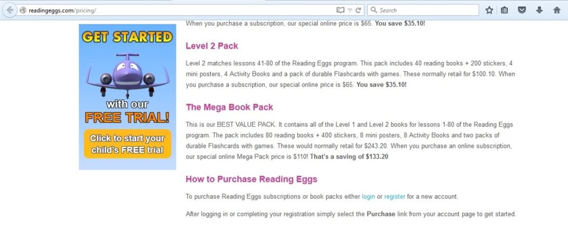 Reading Eggs Discount Codes Find the latest Reading Eggs discount coupons, special offers and deals below! Discover Reading Eggs promo codes, discounts and offers - all in one handy place. If you already have an activated Reading Eggs account, be sure to grab a great deal below!