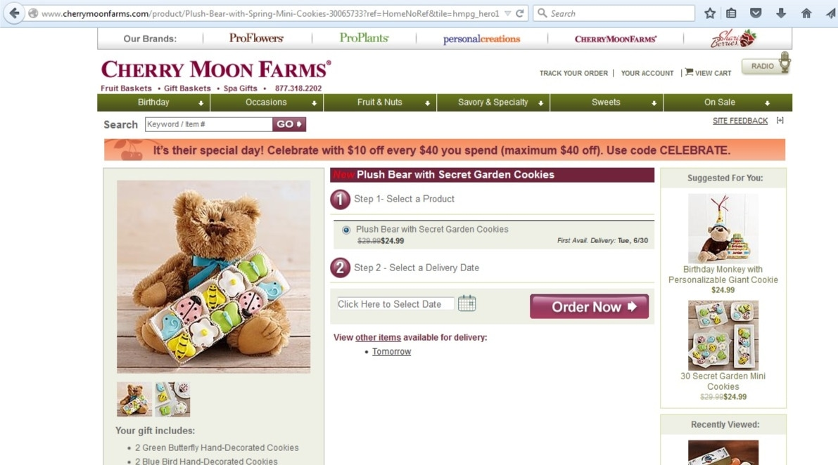 cherry moons coupon code