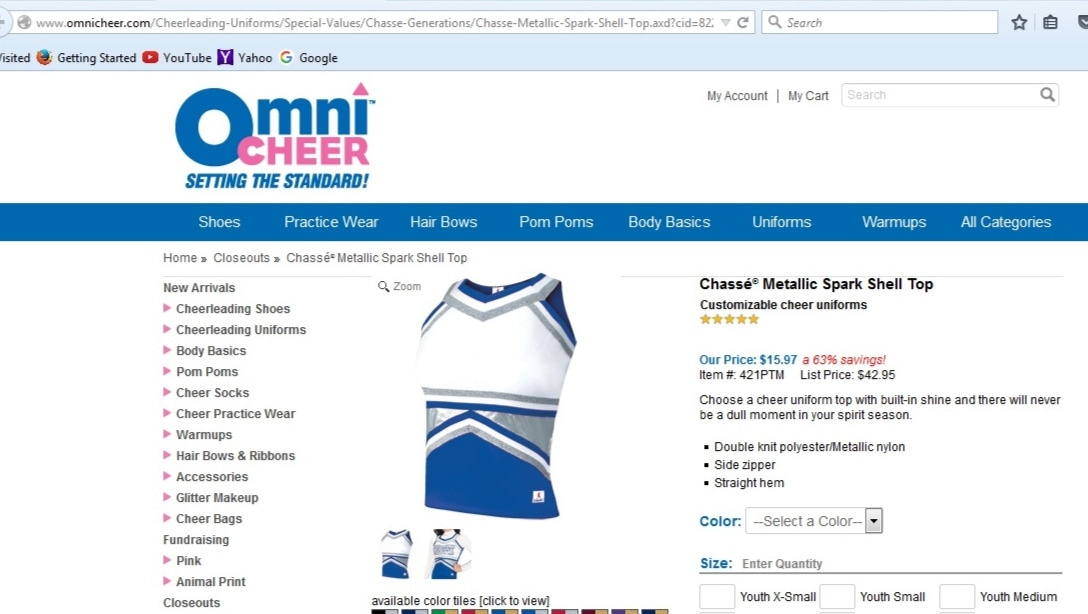 Omni cheer coupon code