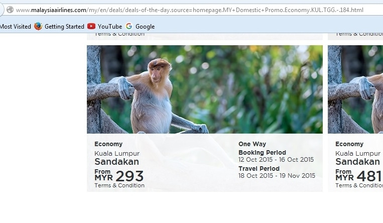 Malaysia airlines discount coupon code