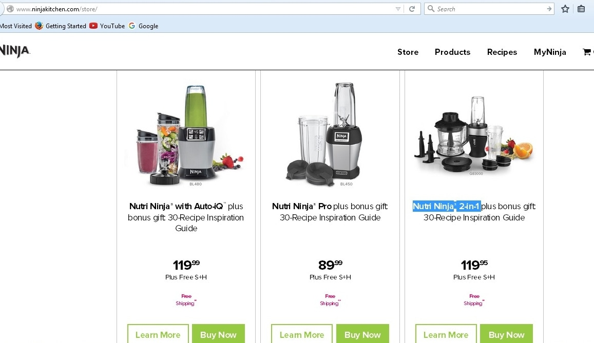Nutri Ninja Blender Duo Coupons