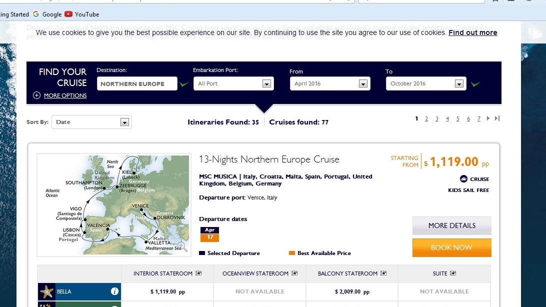 2. Copy MSC Cruises promo code. Please double check the restriction of the promo code, if it has. 3. Paste MSC Cruises promo code to the right place when checkout. Please make sure the product you choose meets the requirements. 4. See a deducted price & pay.