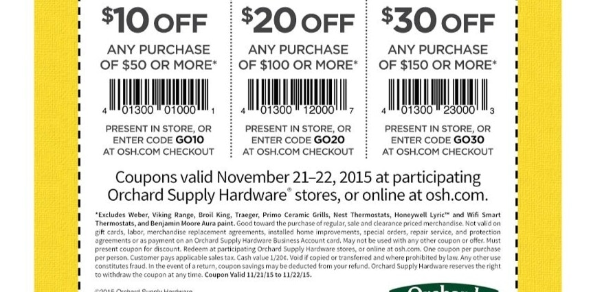 Orchard mile coupon code