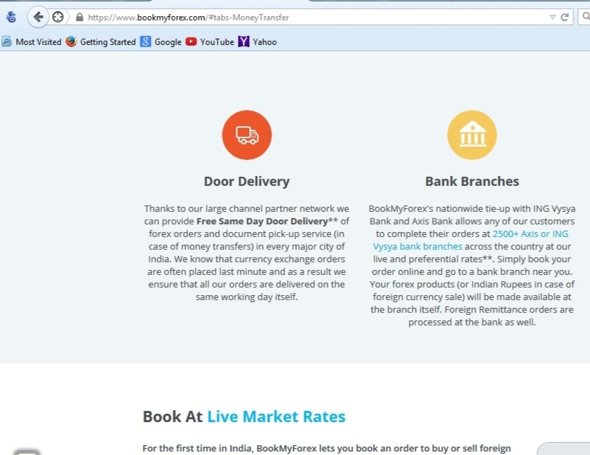Bookmyforex discount coupons