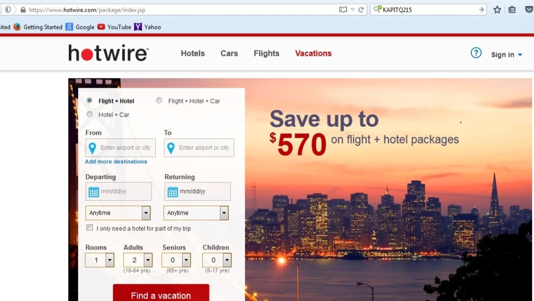 Hotwire coupons amp promo codes