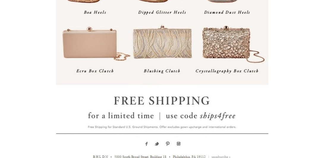 Free Shipping @ BHLDN. Free Shipping on All Products. % Success; share; GET CODE. Used Today. 30% OFF COUPON. 30% off All orders. Extra 30% off sale @ BHLDN Promo Codes. Get great savings with algebracapacitywt.tk Promo Code - MAIDS17 is valid only for a limited time. Please hurry up to get this code and give yourself a chance to gain.