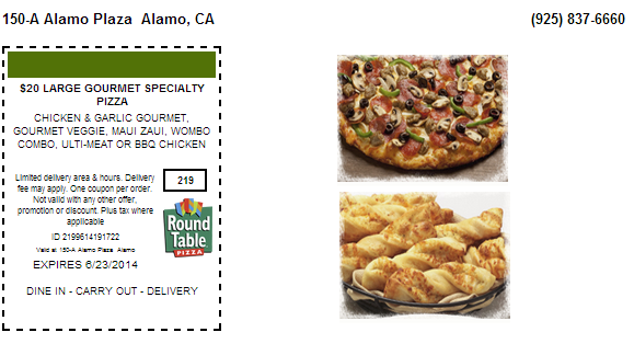 Abby's pizza coupons